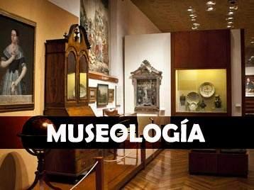 MUSEOLOGIA, carrera, a distancia