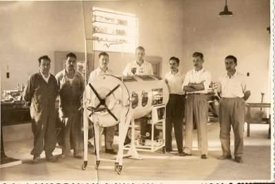 Pulmotor Epidemia de Polio, equipo de creadores del pulmotor argentino