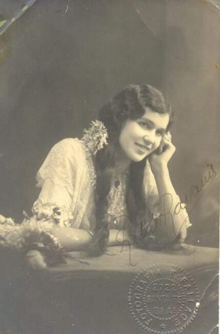 Hija de inmigrantes italianos