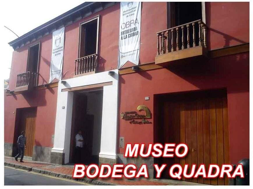 MUSEO BODEGA Y QUADRA